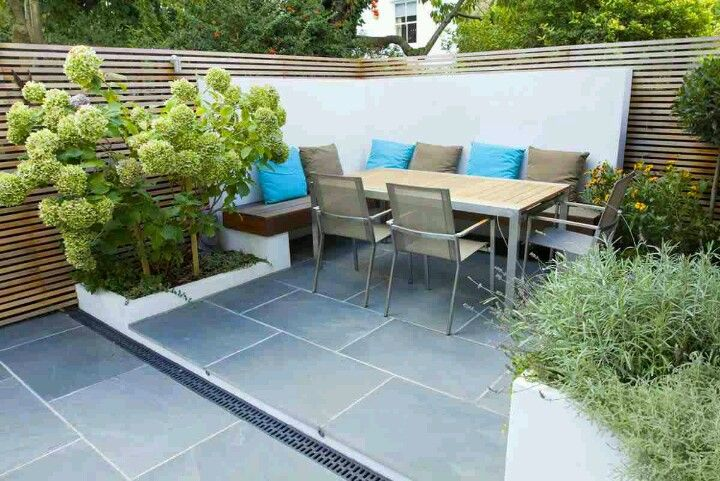 An idea for our small patio. | Decorating | Pinterest | Small patio ...
