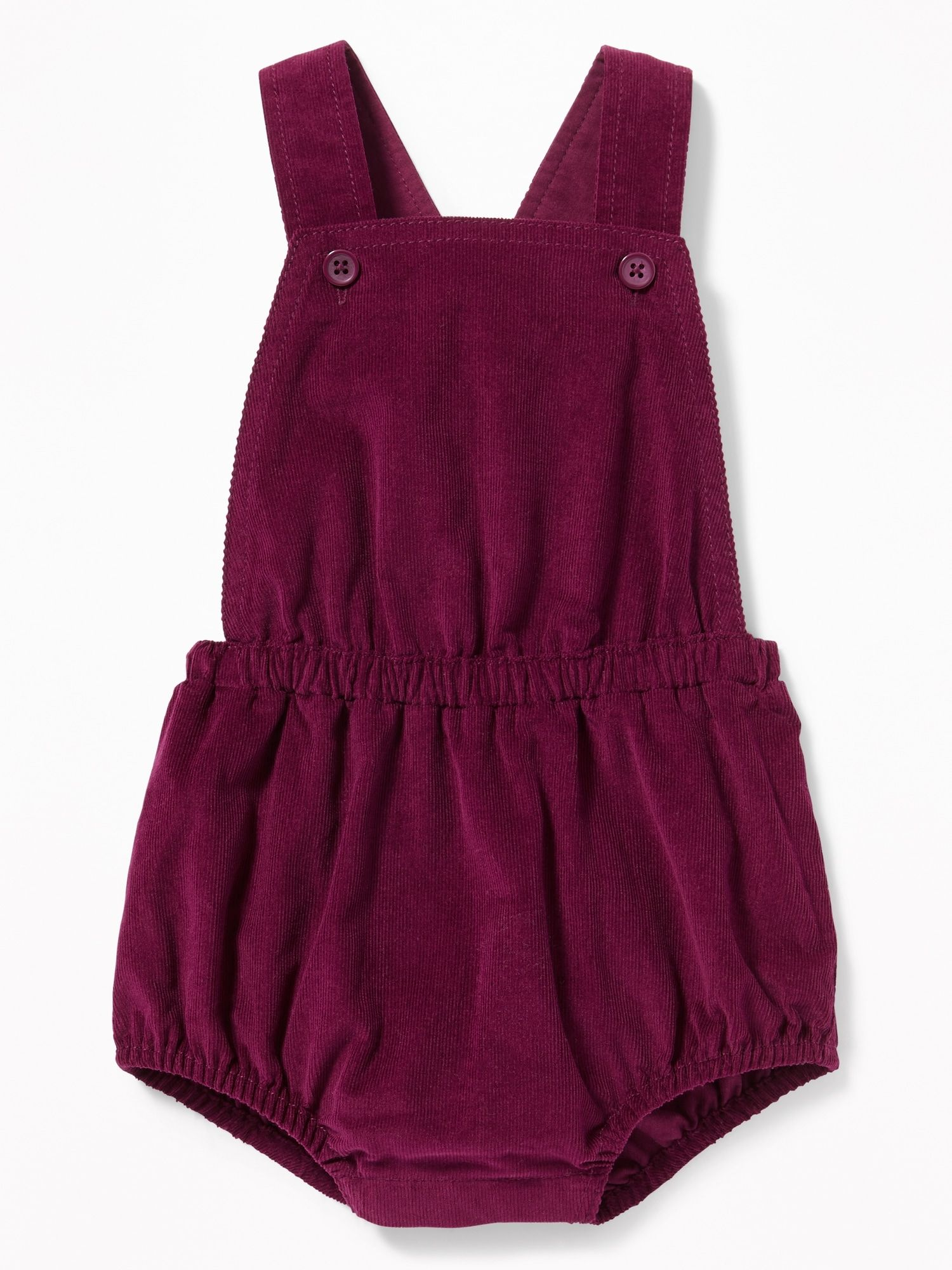 1f70d5a17 Apron-Front Corduroy Bubble Romper for Baby | Old Navy | Babies ...