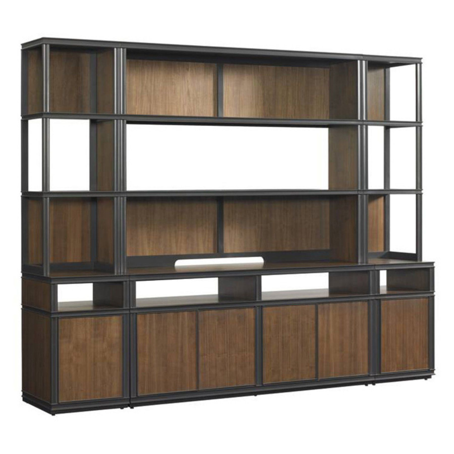 Stanley furniture montreux media wall entertainment center