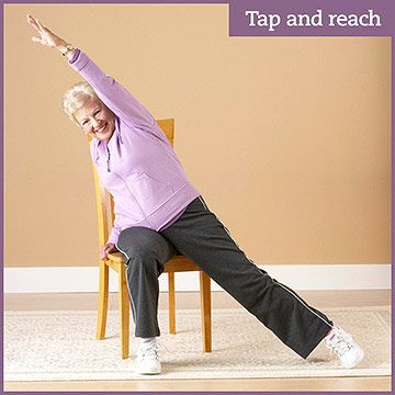 seated flexibility cardio  strength workout  strength