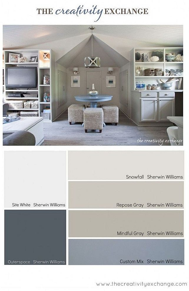 Gray Color Palette Gray Interior Color Palette Graycolorpalette