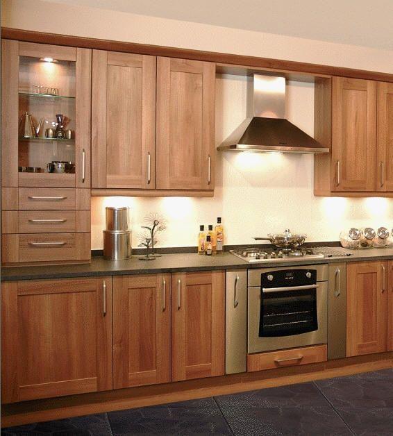 Solid Wood Kitchen Walnut Cabinets: Walnut Kitchen, Shaker Kitchen