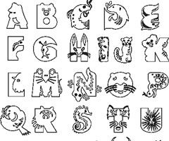 Coloriage Abecedaire Animaux Coloriage Alphabet Coloriage Animaux A Colorier