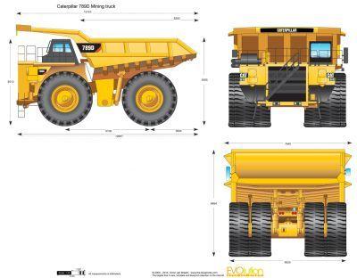 mining truck blueprint - Google Search   dump truck research