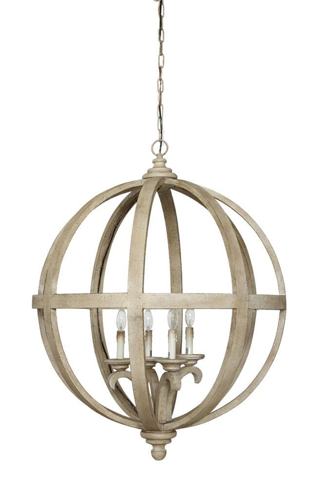 Rustic Wood Metal Sphere Chandelier Jackson Pine Farm Jpf