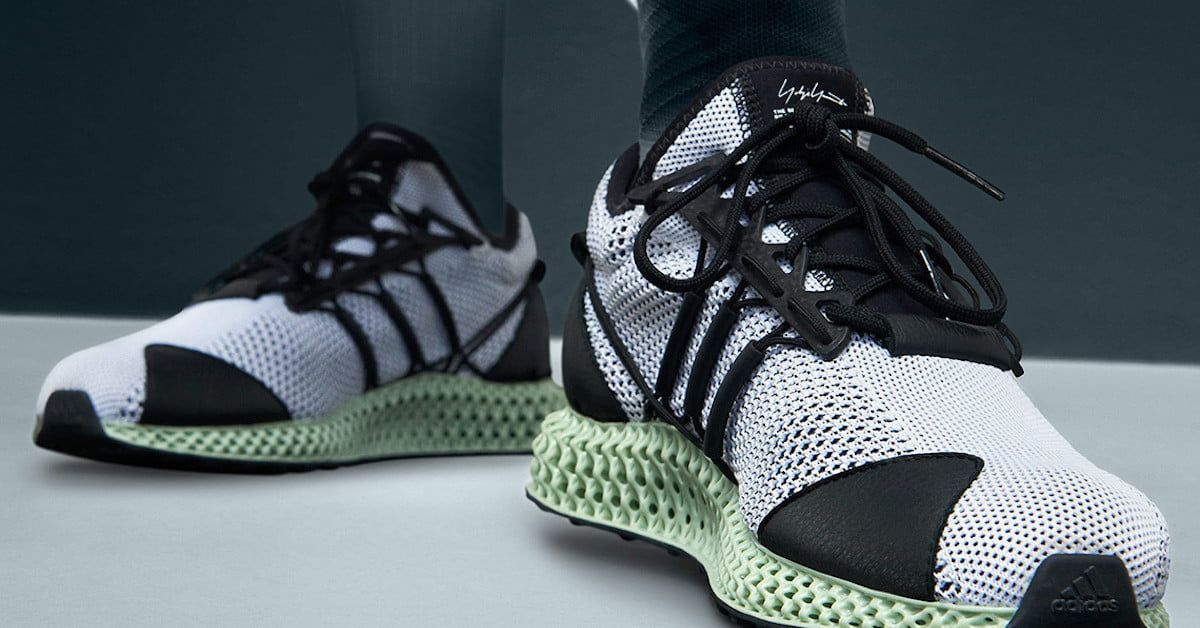 watch ffbe1 5ebc9 Adidas upgrades its high-end sneaker line with a 3D-printed midsole  Shoes  3DPrinting