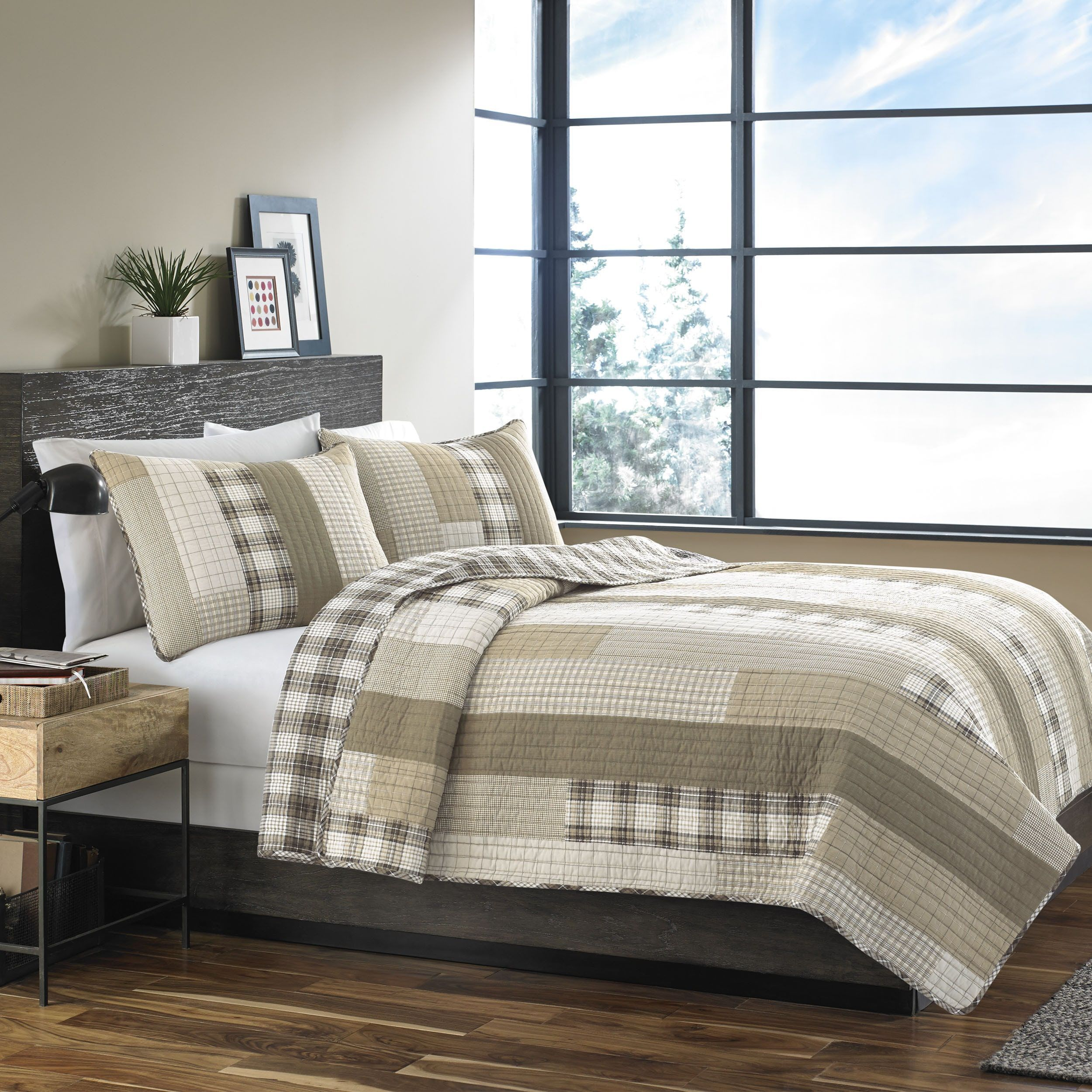 bauer today overstock bedding quilt free eddie island product plum set camano bed shipping bath