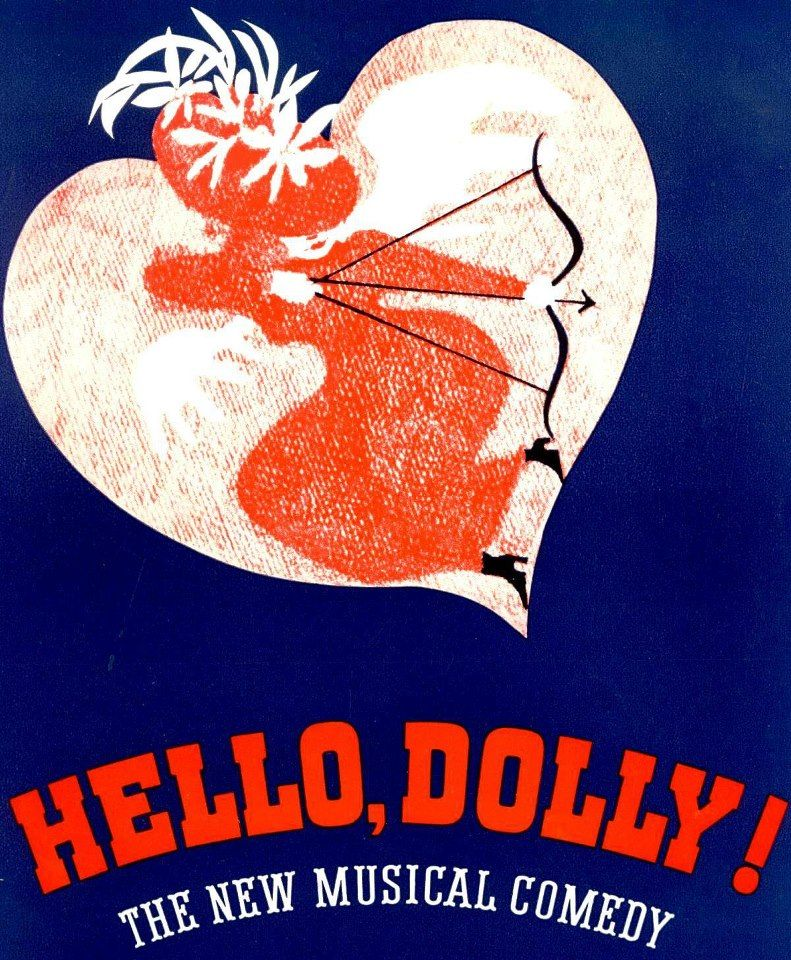 design for early hello dolly posters