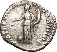 COMMODUS son of Marcus Aurelius Rare Silver Ancient Roman Coin Aequitas i53473
