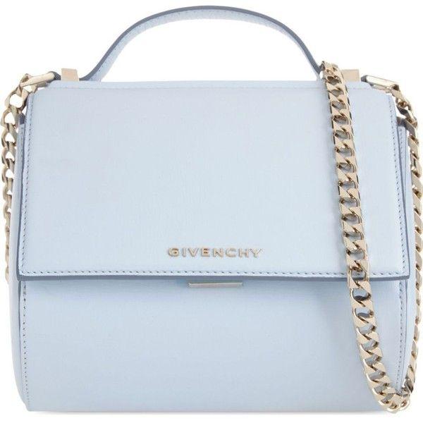 c03c39e31d4 Givenchy Pandora mini leather shoulder bag ($1,800) ❤ liked on Polyvore…