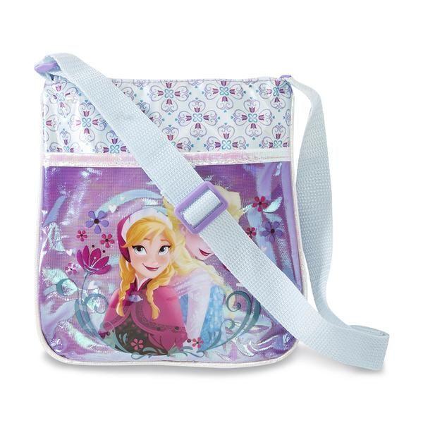 Disney Frozen Girl's Crossbody Bag - Elsa & Anna NWT Girls #Disney