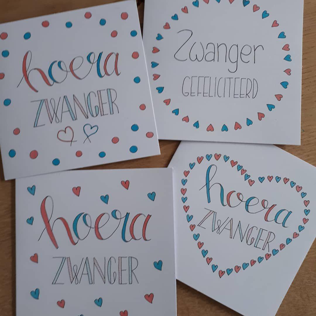 Fonkelnieuw Altijd mooi nieuws, leuke kaartjes om te maken 😊 #zwanger TZ-07
