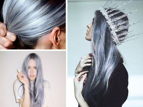Best Silver Blue Hair Dye Hair Inspiration Color Hair Hair Styles
