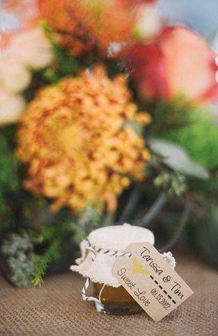 A Rustic Homespun Orange Wedding