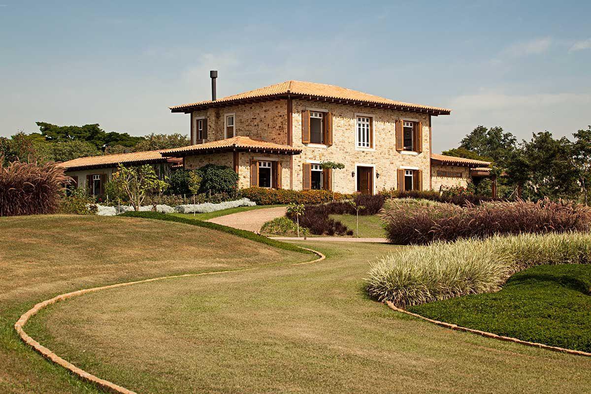 7 modelos de casas de campo bien sencillas | Casas de ...