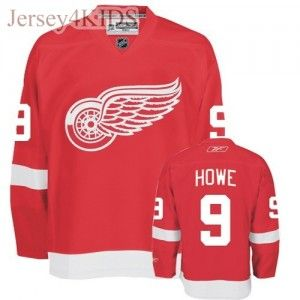 the best attitude f8384 4c555 KIDS' Detroit Red Wings #9 Gordie Howe Jersey (Red) | Ben's ...