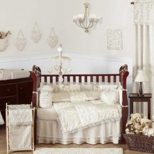 Champagne And Ivory Victoria Baby Bedding Crib Set The Collection By Sweet Jojo Designs Will Create A Traditional Yet