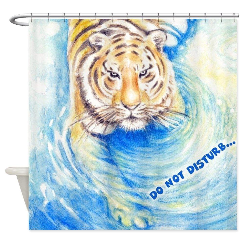 Tiger Bath Shower Curtain Shower Bath Cool Shower Curtains