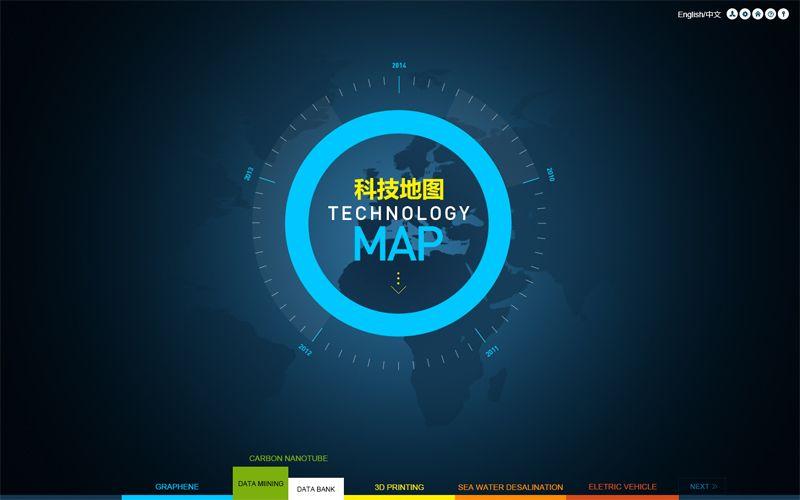 万博思图(北京)博客Blog » Blog Archive » 万博思图新作-科技地图数据可视化