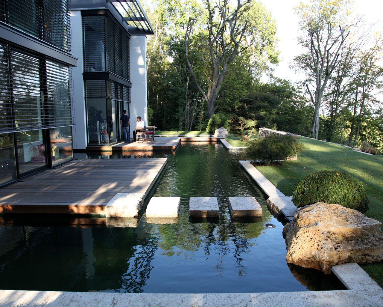 Formale Gärten Wasser Garten Kirchner Garten Pinterest
