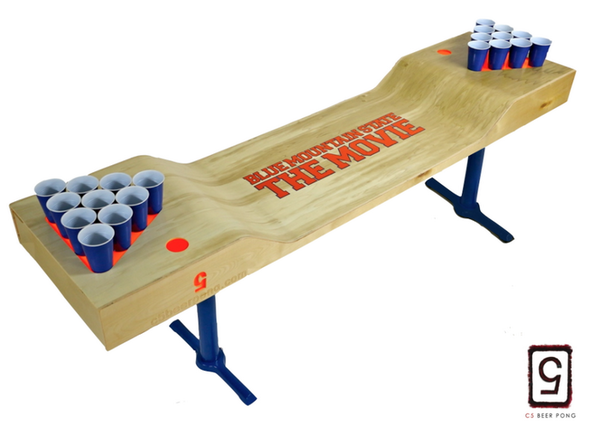 New Reward Custom Blue Mountain State The Movie Beer Pong Table - Custom vinyl decals for beer pong tables