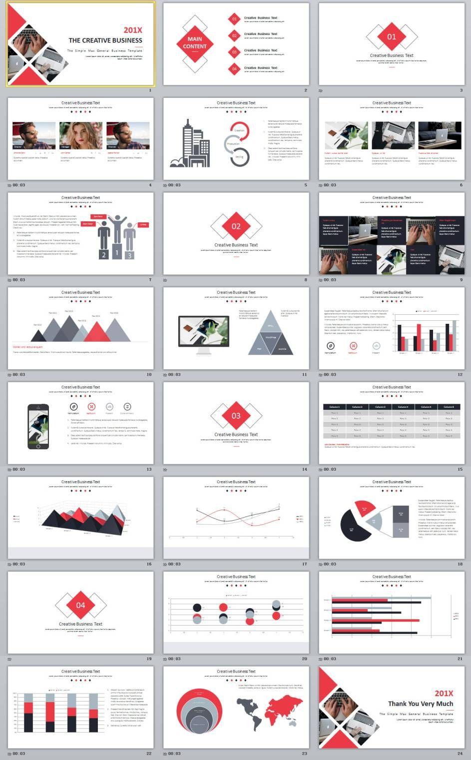 24 best creative business powerpoint template powerpoint poster 24 best creative business powerpoint template toneelgroepblik Choice Image