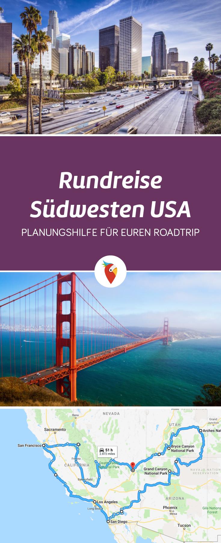 Rundreise Westküste - Der klassische Roadtrip durch den Südwesten der USA