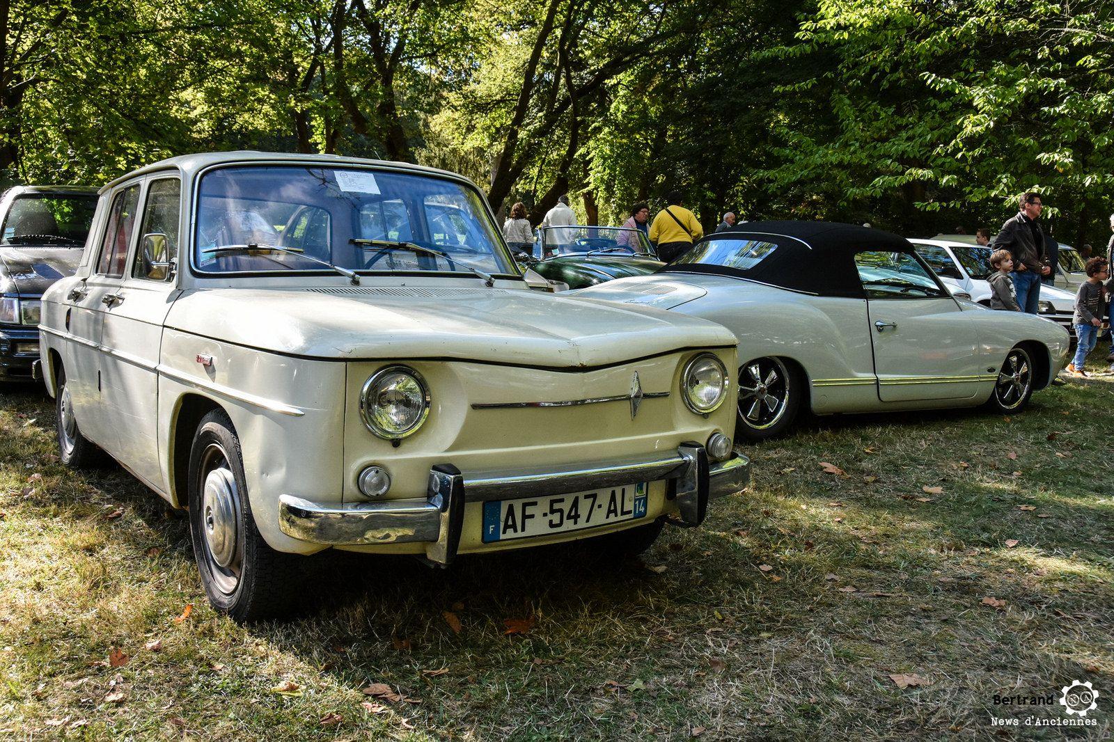 Renault 8 au rasso de l'AMA #MoteuràSouvenirs Reportage complet : http://newsdanciennes.com/2016/10/06/14e-rasso-ama-asnieres-sur-oise-les-belles-anciennes-sous-le-soleil/
