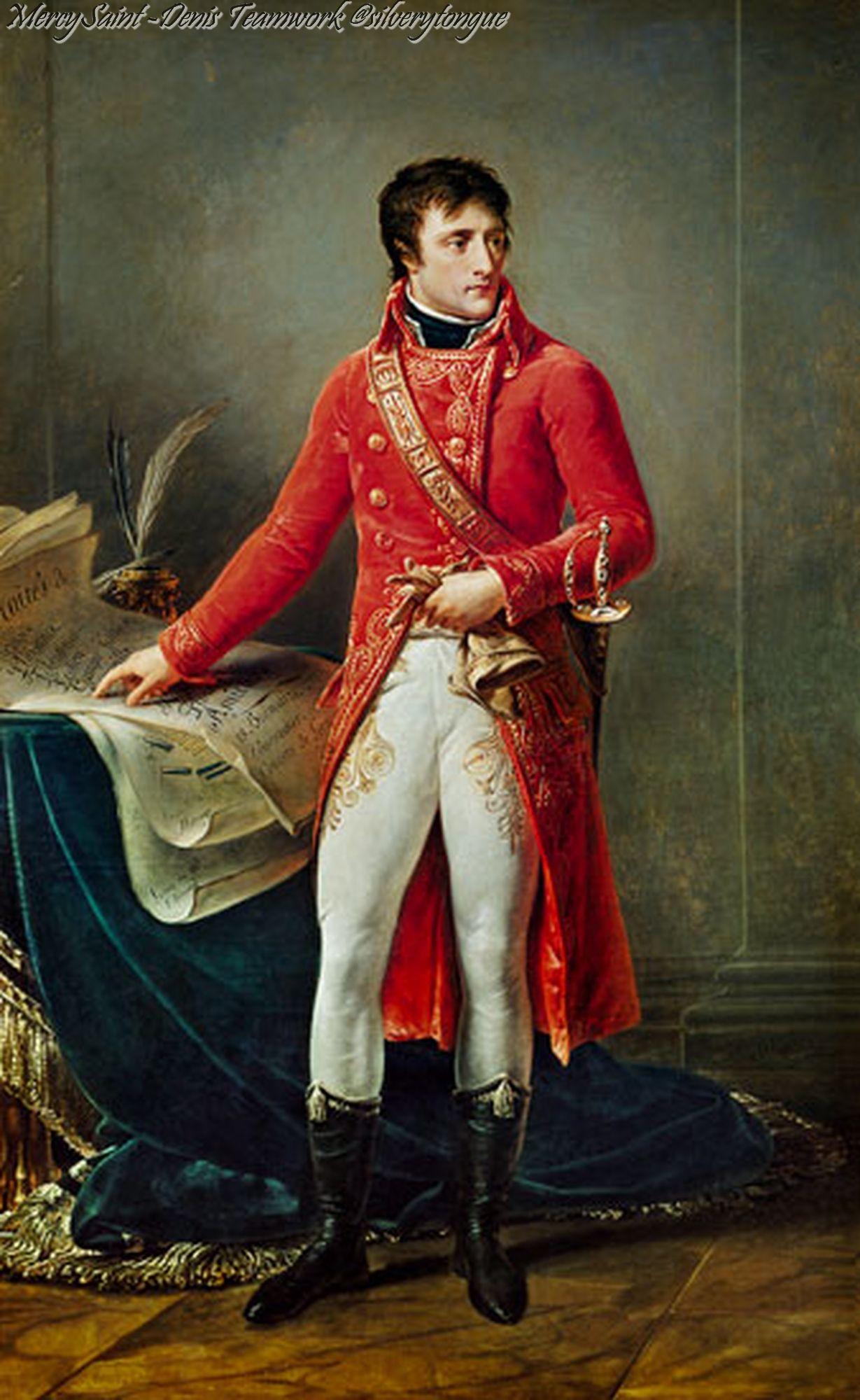 Napoleon As First Consulby Antoine Jean Gros Napoleon