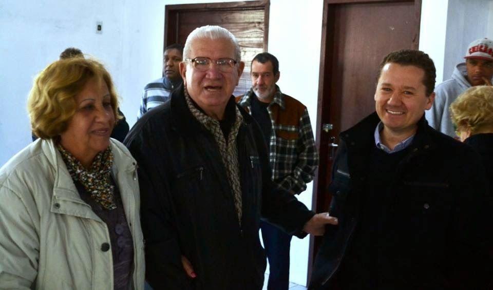 Parabéns ao amigo Zoeli Santos de Oliveira! Ex-prefeito de MINAS DO LEÃO, festejou aniversário entre amigos e familiares na tarde deste sábado (26). Obrigado pelo apoio nesta caminhada.