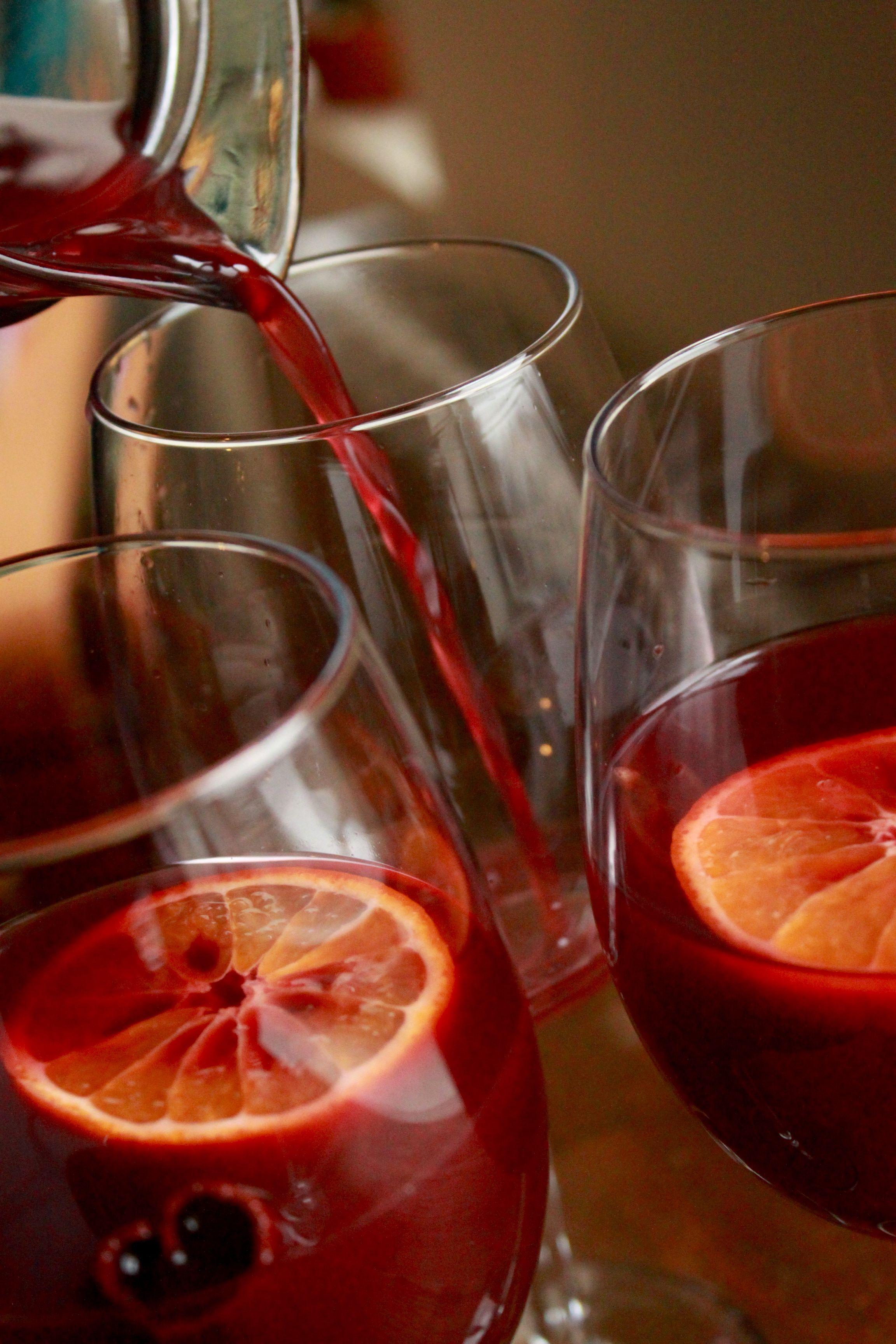 Sweet Spicy Red Wine Sangria Aka Sangria De Noche Buena Recipe On Food52 Recipe Red Wine Sangria Sweet And Spicy Spicy Sangria