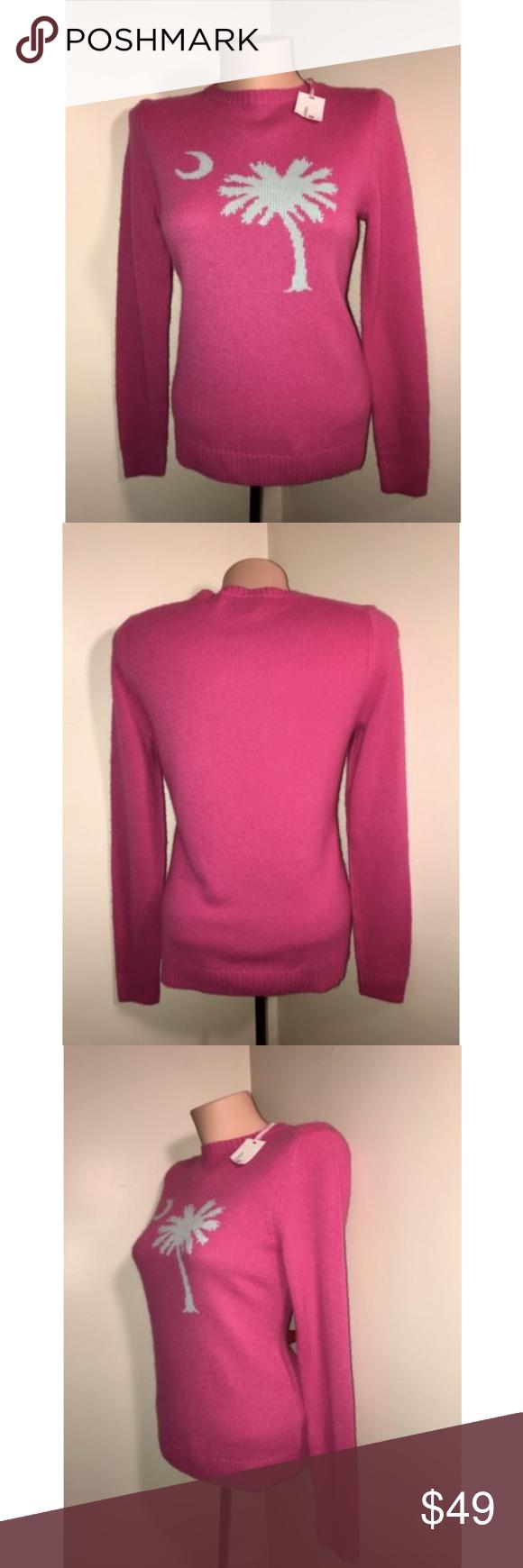 Vineyard Vines Women's Pink Cashmere Sweater Size: 2XS (XXS) Color ...