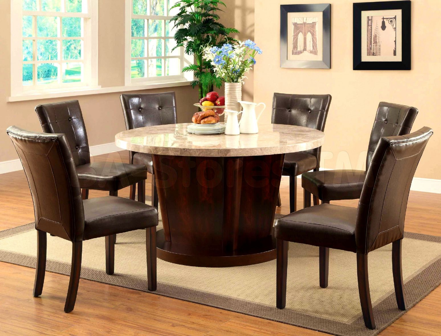 100 round marble dining table for 6  best way to paint