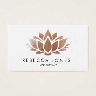 Yoga instructor lotus flower business card business card for yoga yoga instructor lotus flower business card colourmoves