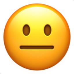 The Neutral Face Emoji On Iemoji Com Emoji Emoji Pictures Smiley