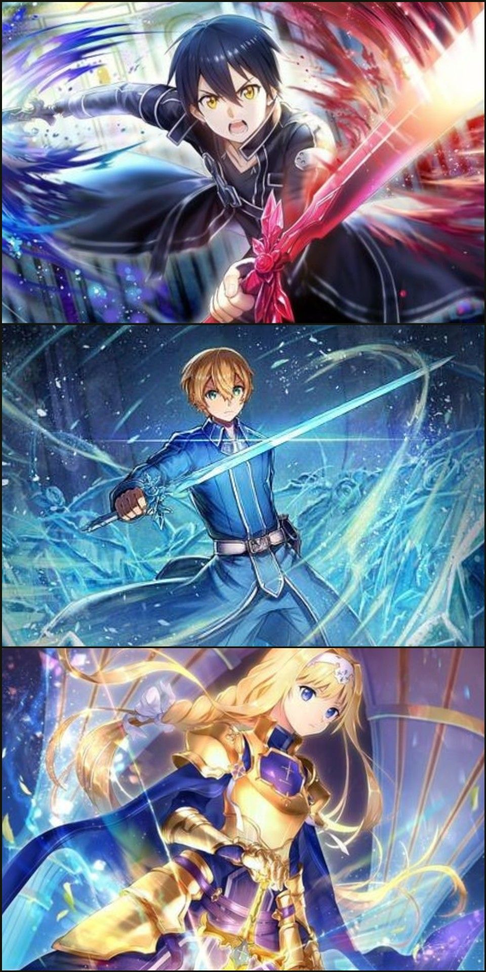 Pin on Sword art online