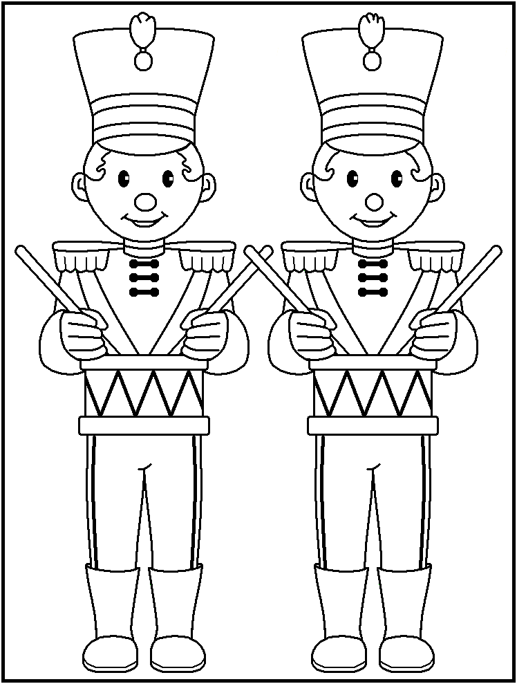 FREE Printable Christmas Coloring Pages - page 2 | Március 15 ...