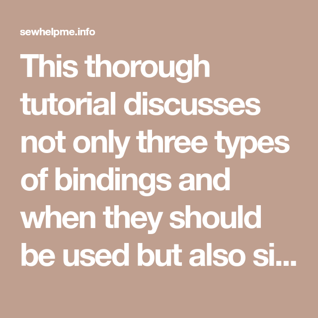 This Thorough Tutorial Discusses Not Only Three Types Of