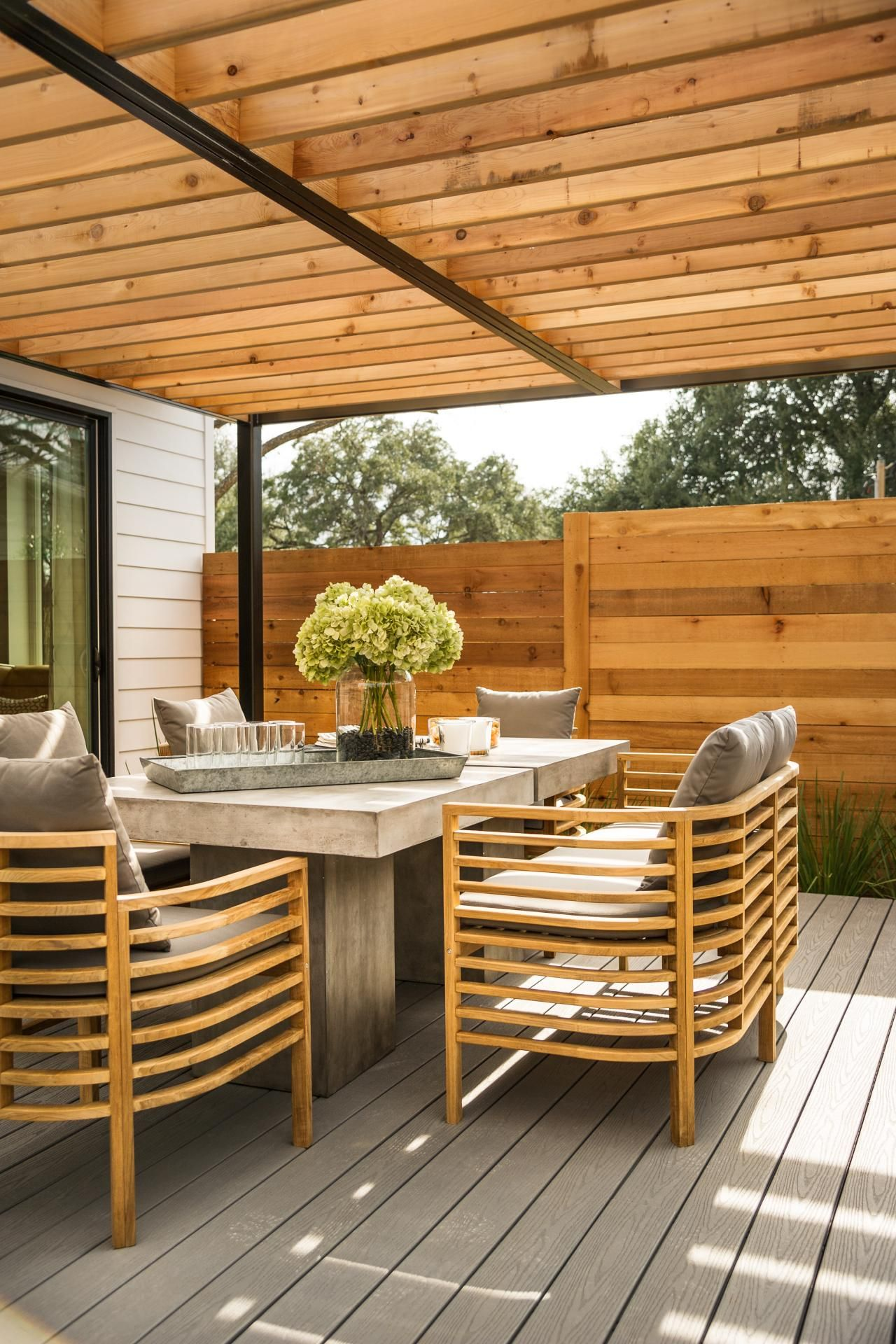 Pictures Of The Hgtv Smart Home 2015 Deck - Hgtv