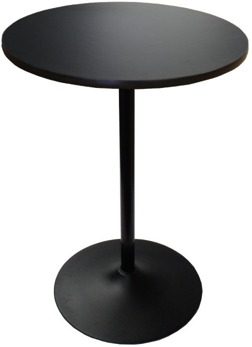 30 Inch Round Banquet Highboy Table With Round Black Base Highboy Table Table Banquet Tables