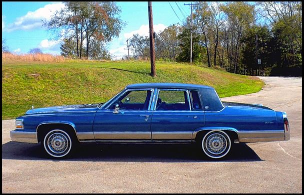 1991 Cadillac Brougham >> 1991 Cadillac Fleetwood Brougham D Elegance Alright