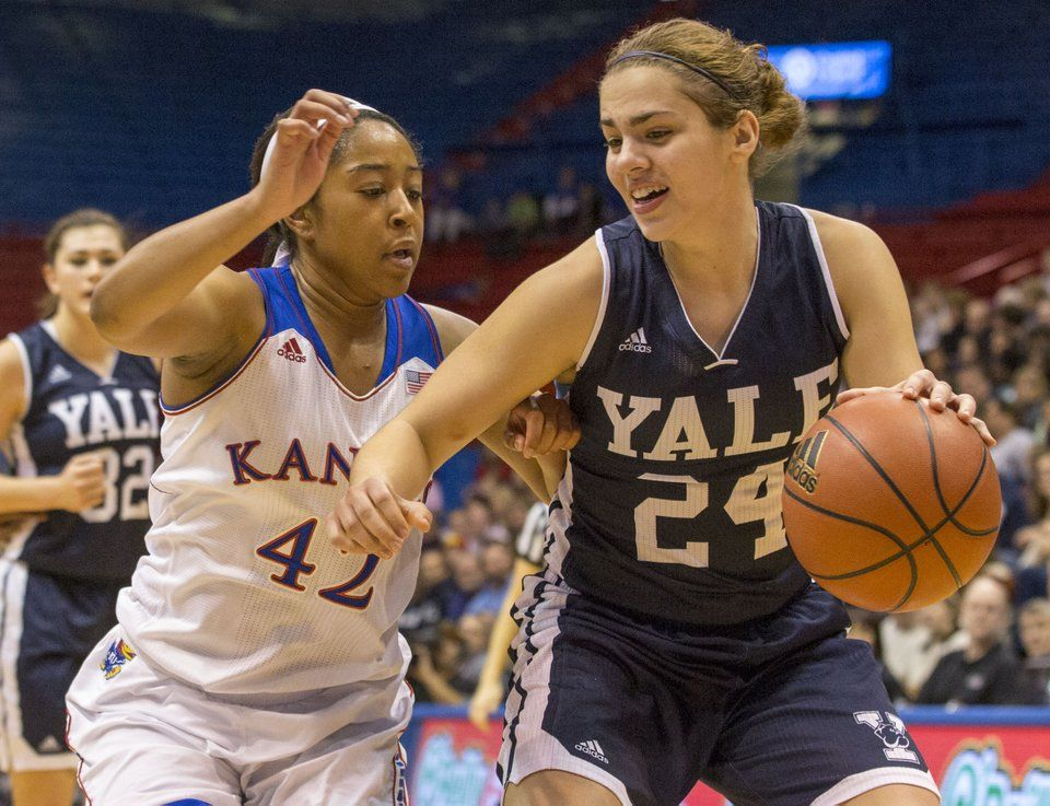 Yale's Lena Munzer is the NCAA Division I Athlete of the