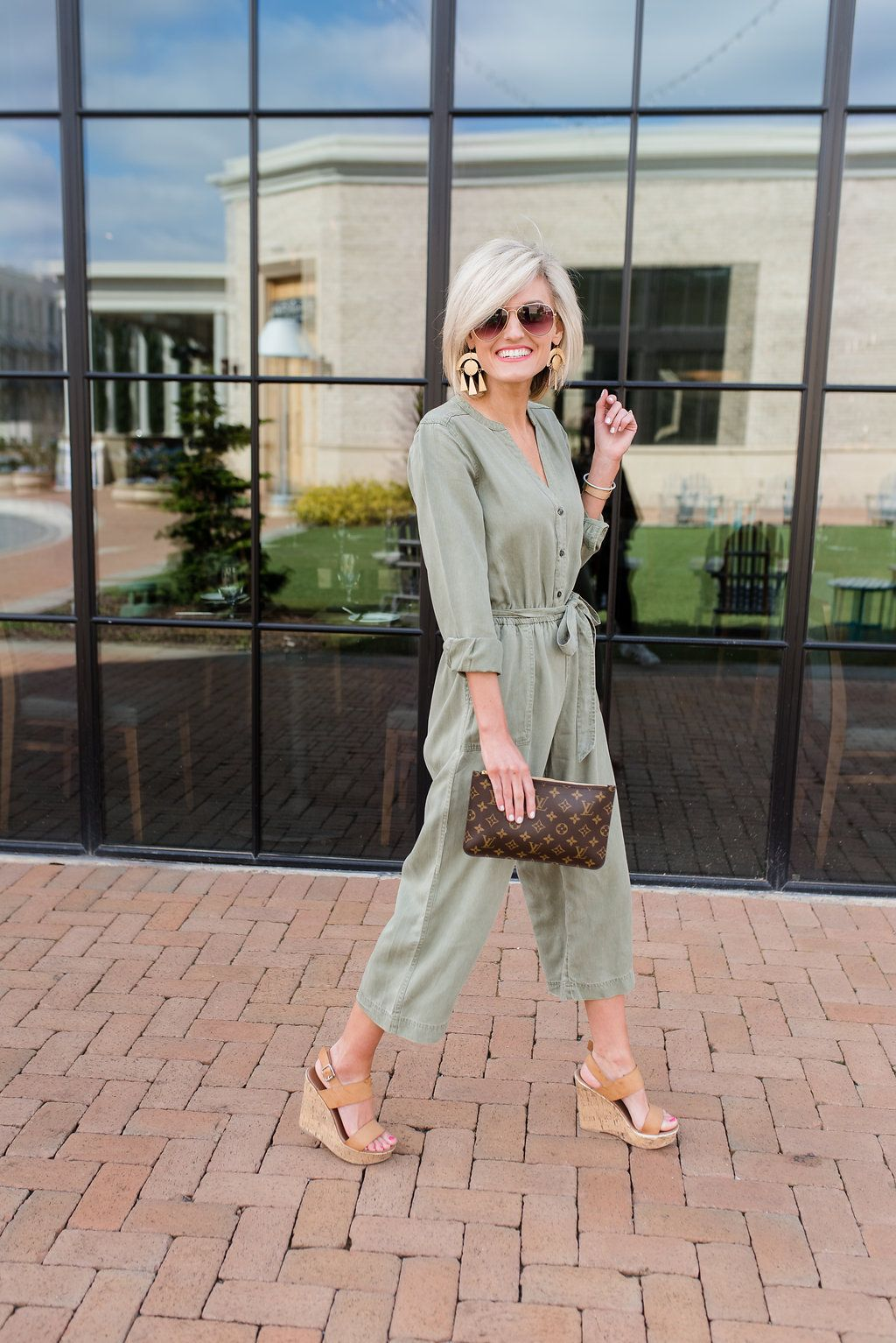 bc76008c8a2bf Green Jumpsuit + Old Navy 40% Off Everything Sale | LOVE#12 | Old ...