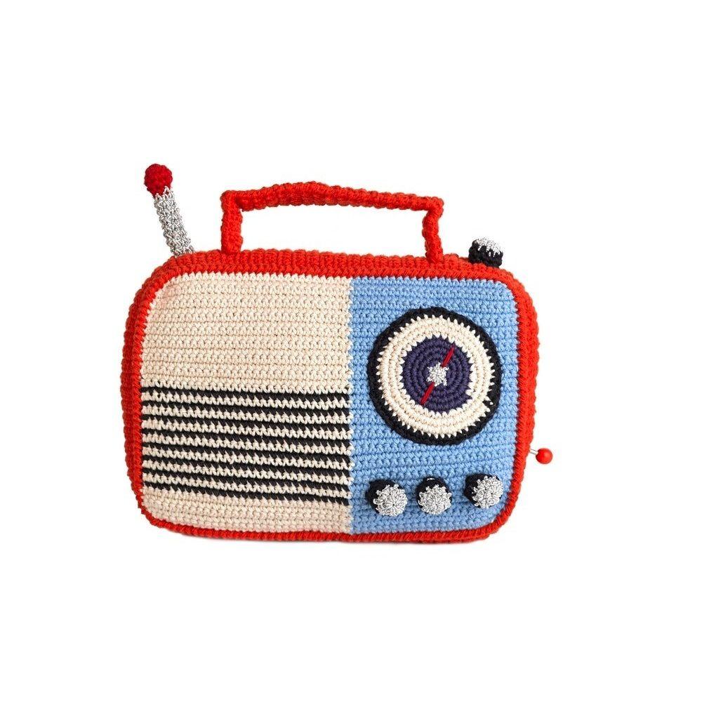 Anne-Claire Petit Speelgoed Radio - Oranje