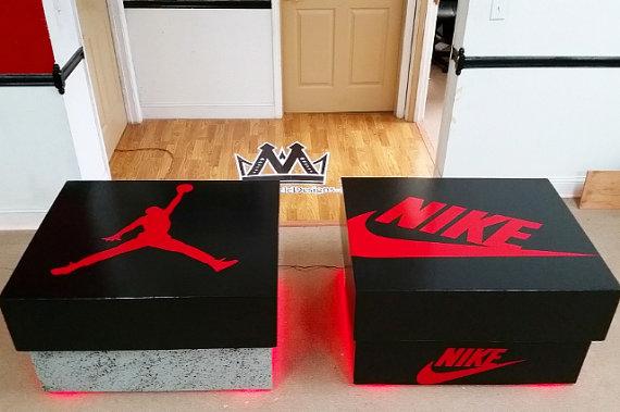 Air Jordan Or Nike Shoebox Storage Case Products Air Jordans
