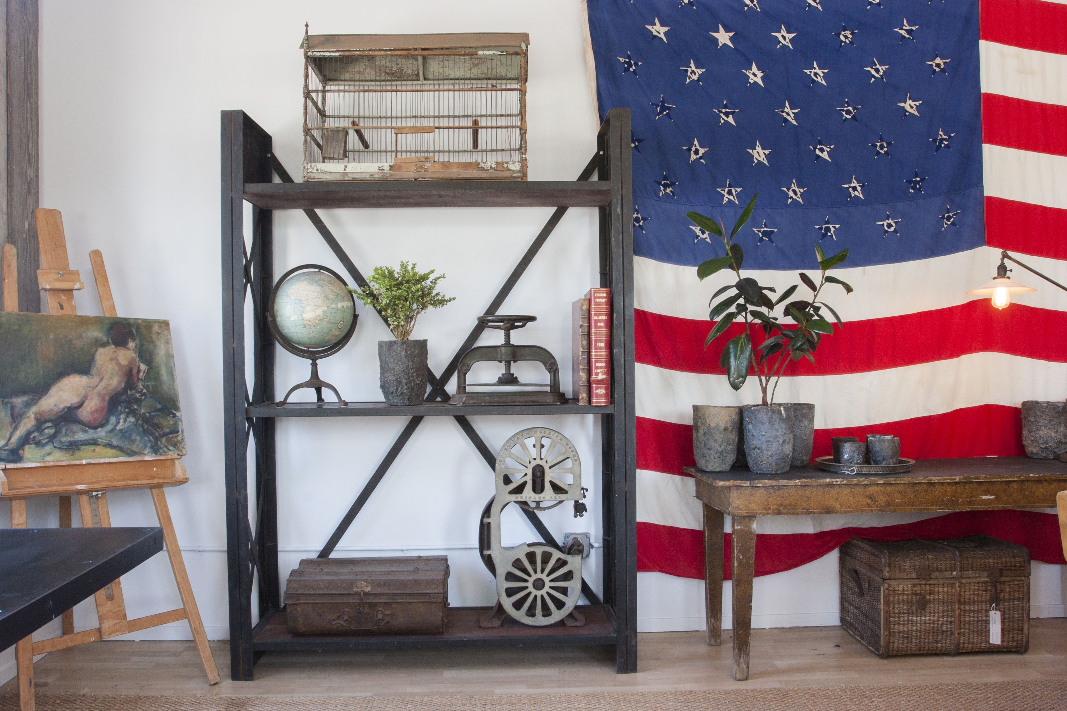Classic Americana Style, Rustic Antiques, Custom Industrial Home Decor Our