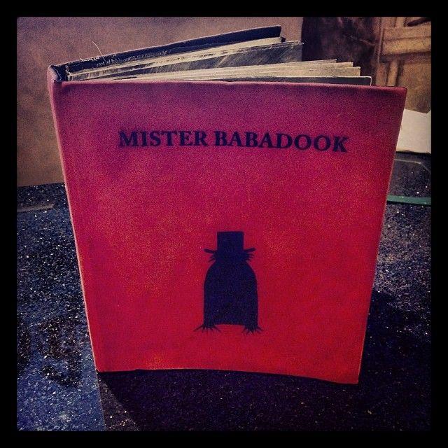 Babadook Book Replica