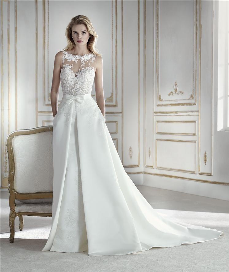 Elegantes Brautkleid von La Sposa Modell PROSPERA | Brautkleider ...