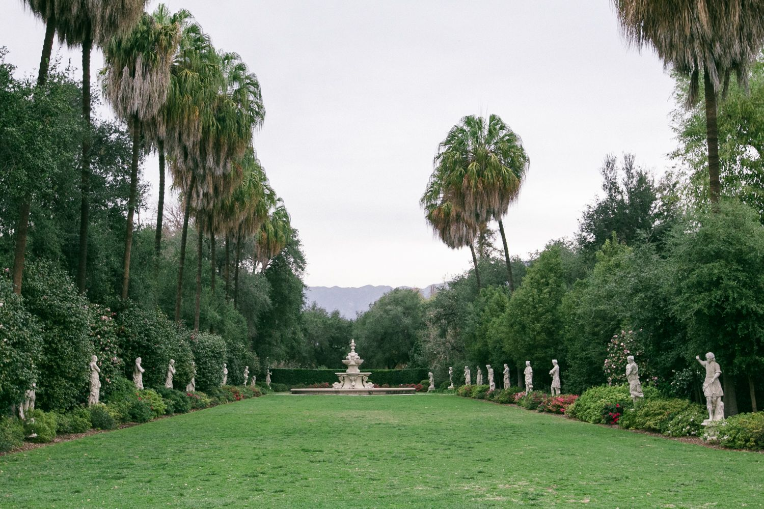 Huntington Library Socal Event E Botanical Gardens Outdoor Wedding Ceremony See More At