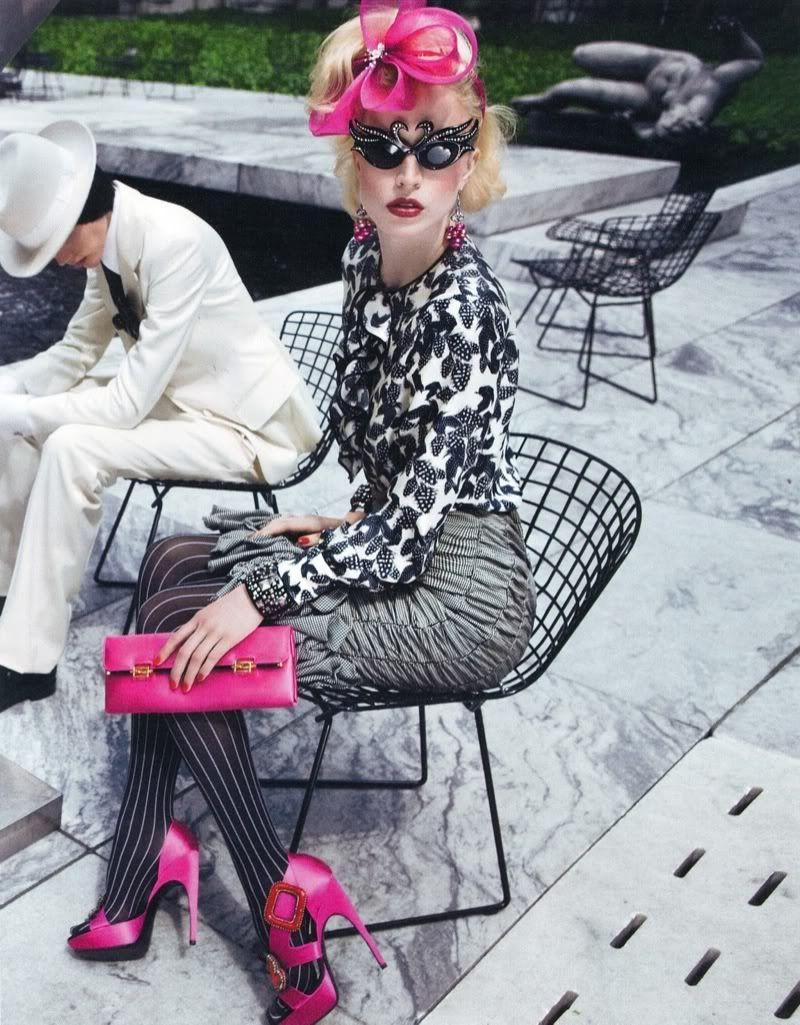 W Magazine: Inez Van Lamsweerde & Vinoodh Matadin. Styling: Alex White